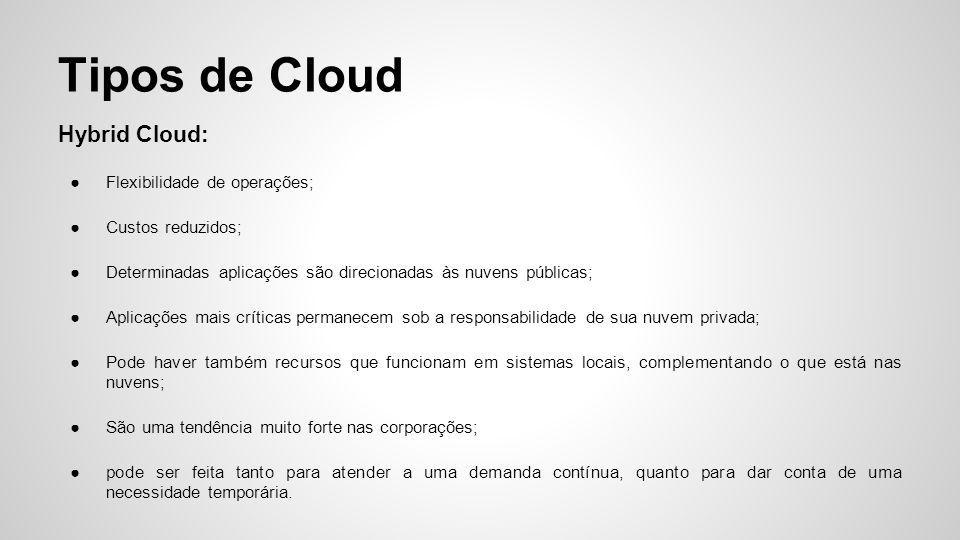 Cloud em Empresas A P&G(Procter & Gamble): contratou o Googleapps para mais de 130 mil colaboradores;