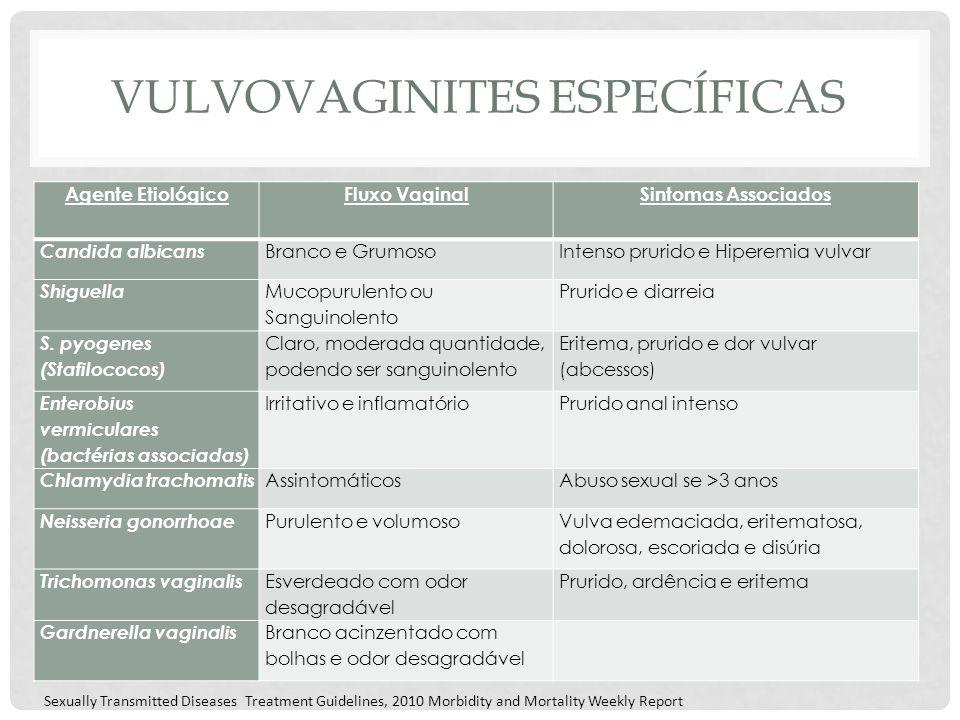 Vulvovaginites específicas