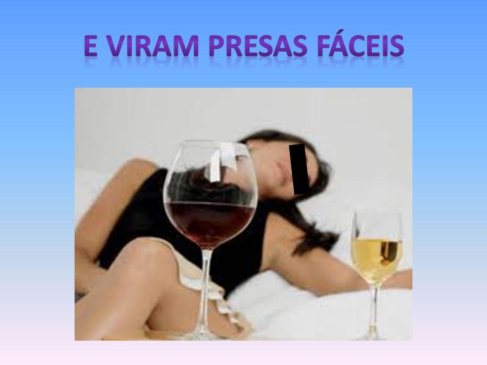 E VIRAM PRESAS FÁCEIS