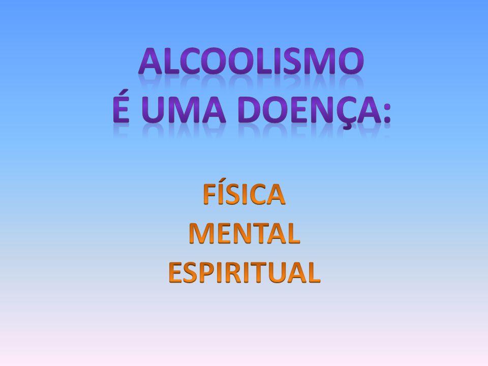 Alcoolismo É UMA DOENÇA: