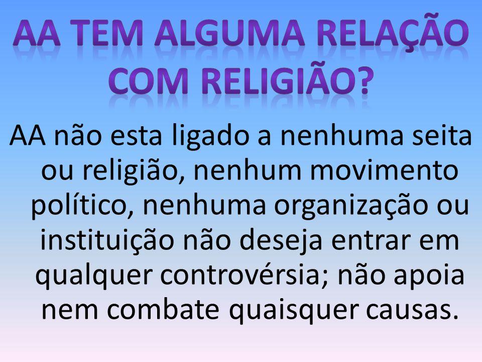 Aa tem alguma relação com religião
