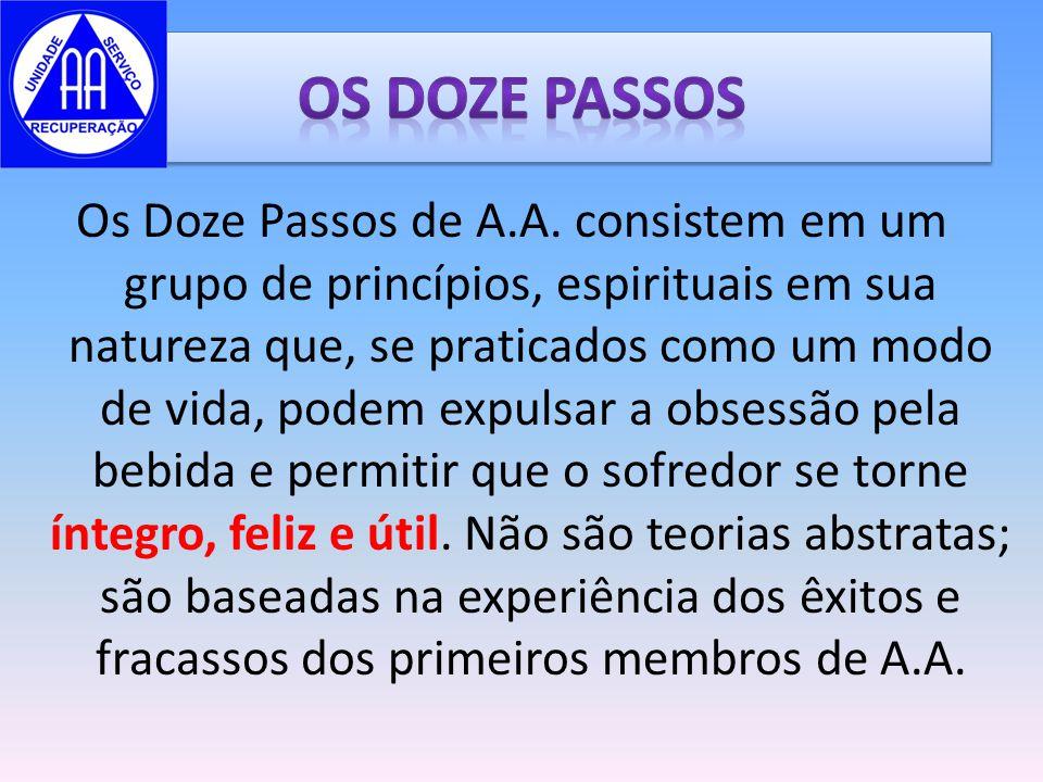 OS DOZE PASSOS