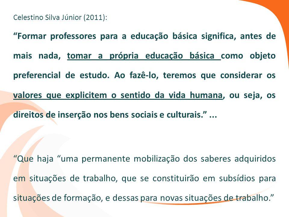 Celestino Silva Júnior (2011):