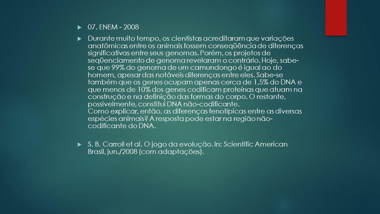 07. ENEM - 2008