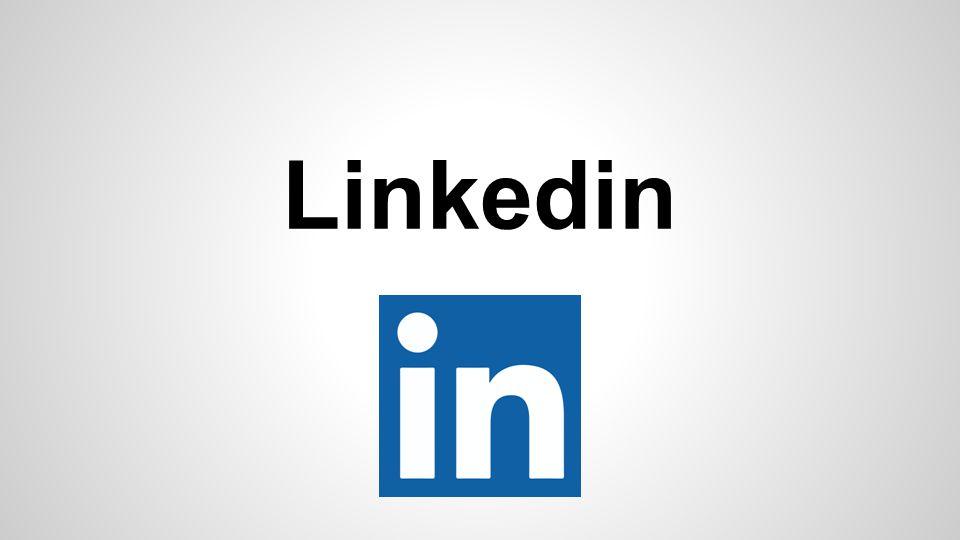 Linkedin É um site de redes sociais para negócios.