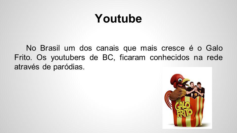 Youtube Sobre vlogueiros, um dos maiores canais também está aqui em SC (especificamente em Tubarão).