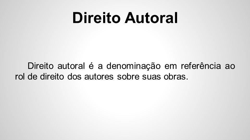 Direito Autoral Em 23 de abril de 2014, foi aprovado o Marco Civil da Internet.