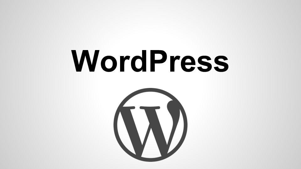 WordPress O WordPress é uma plataforma semântica de vanguarda para publicação pessoal.