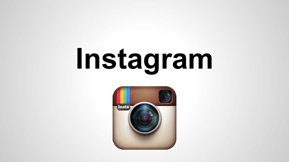 Instagram Instagram é uma rede social online de compartilhamento de foto e vídeo