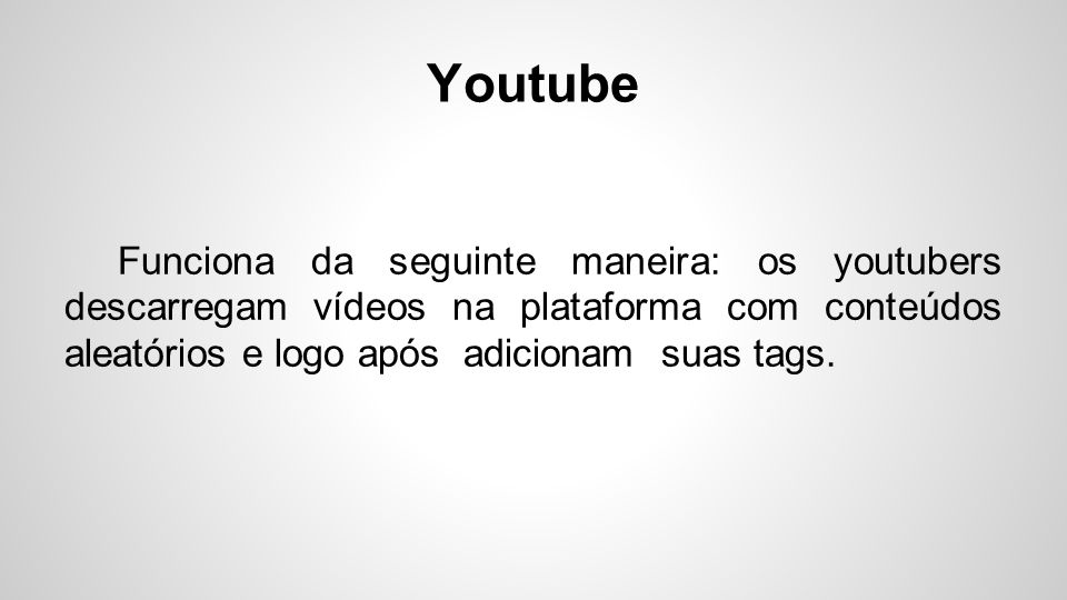 Tags no Youtube