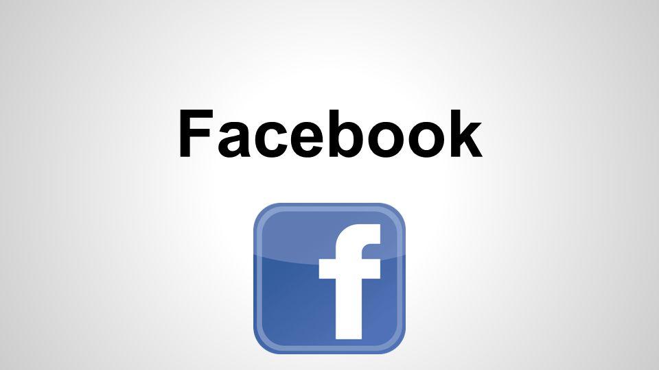 Facebook A principio a rede era destinada apenas aos alunos de determinadas universidades.