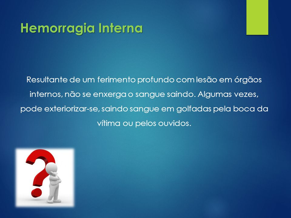 Hemorragia Interna