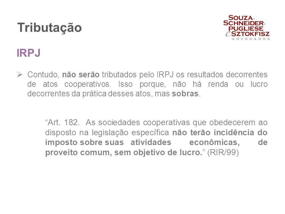 Tributação IRPJ.