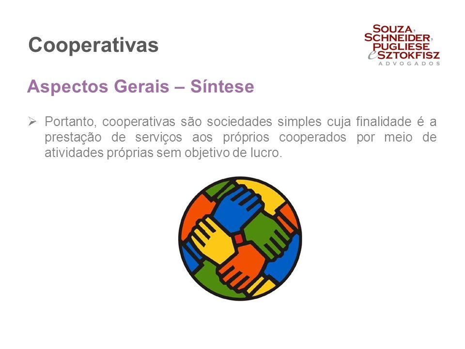 Cooperativas Aspectos Gerais – Síntese