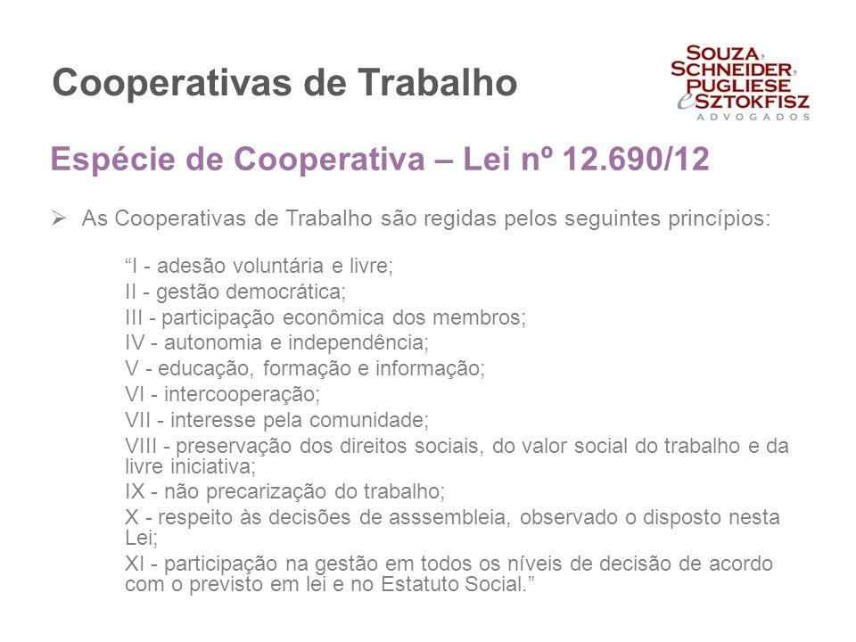 Cooperativas de Trabalho