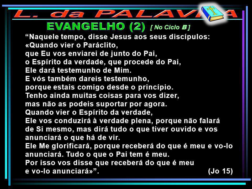 L. da PALAVRA EVANGELHO (2)