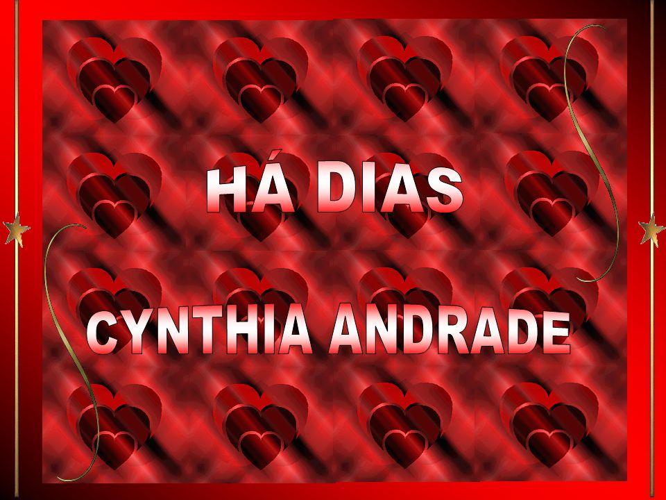 HÁ DIAS CYNTHIA ANDRADE
