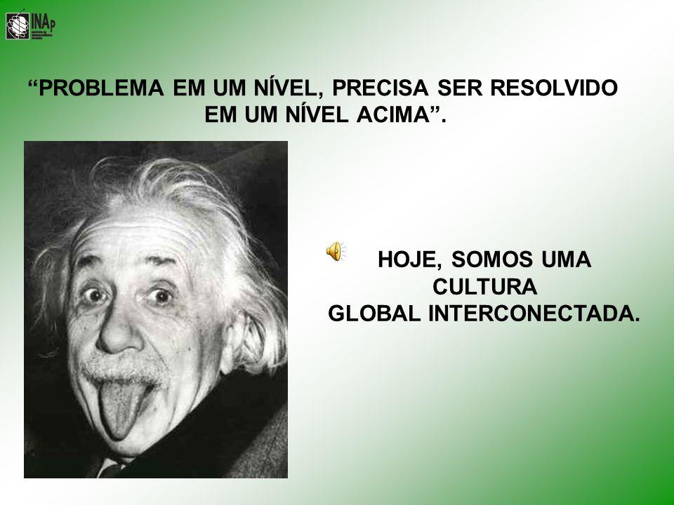 PROBLEMA EM UM NÍVEL, PRECISA SER RESOLVIDO GLOBAL INTERCONECTADA.