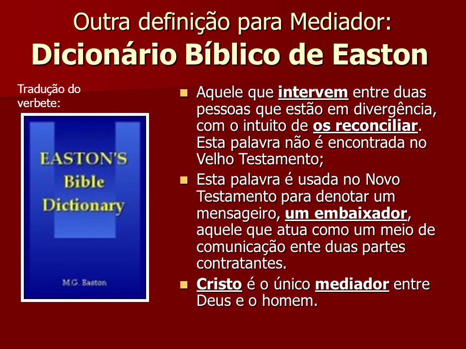 Dicionário Bíblico de Easton