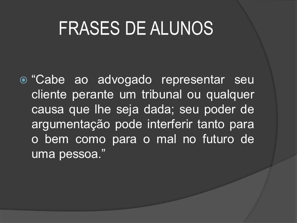 07/04/2017 FRASES DE ALUNOS.