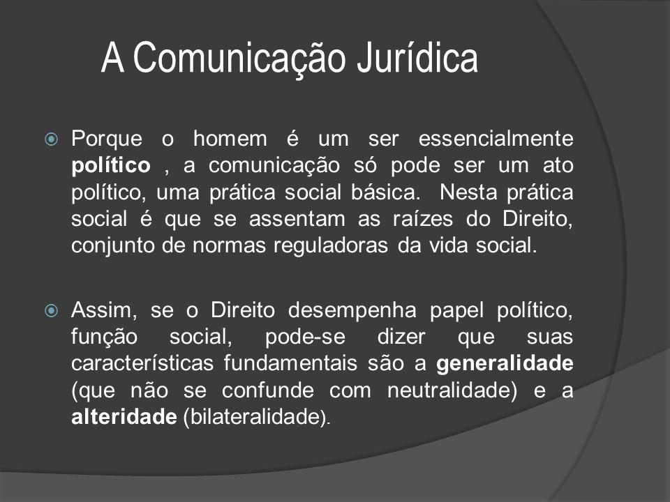 A Comunicação Jurídica