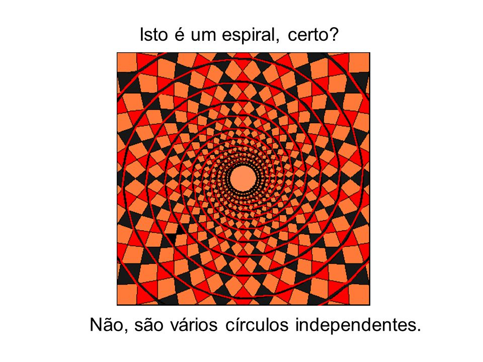 Não, são vários círculos independentes.