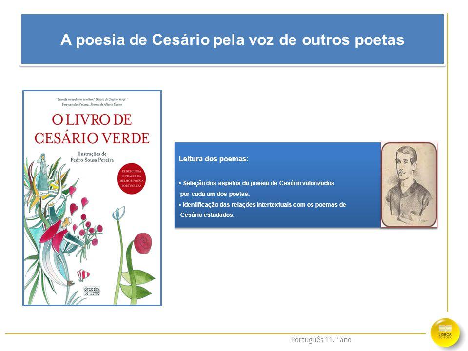 A poesia de Cesário pela voz de outros poetas