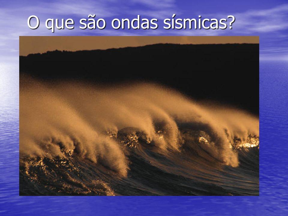 O que são ondas sísmicas