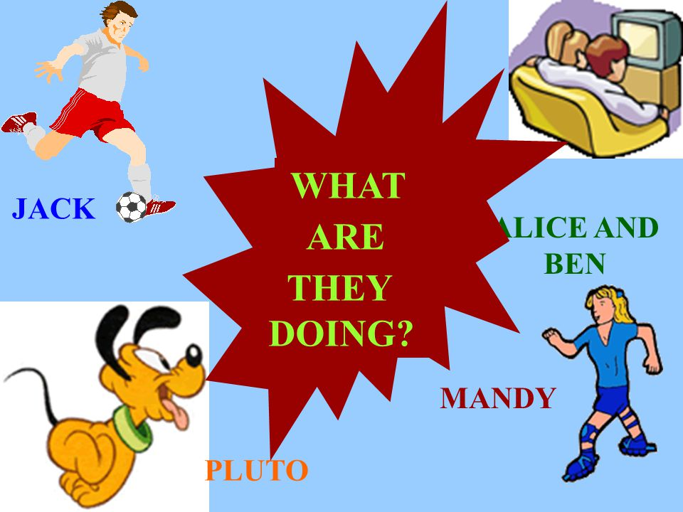 WHAT ARE THEY DOING JACK ALICE AND BEN MANDY PLUTO