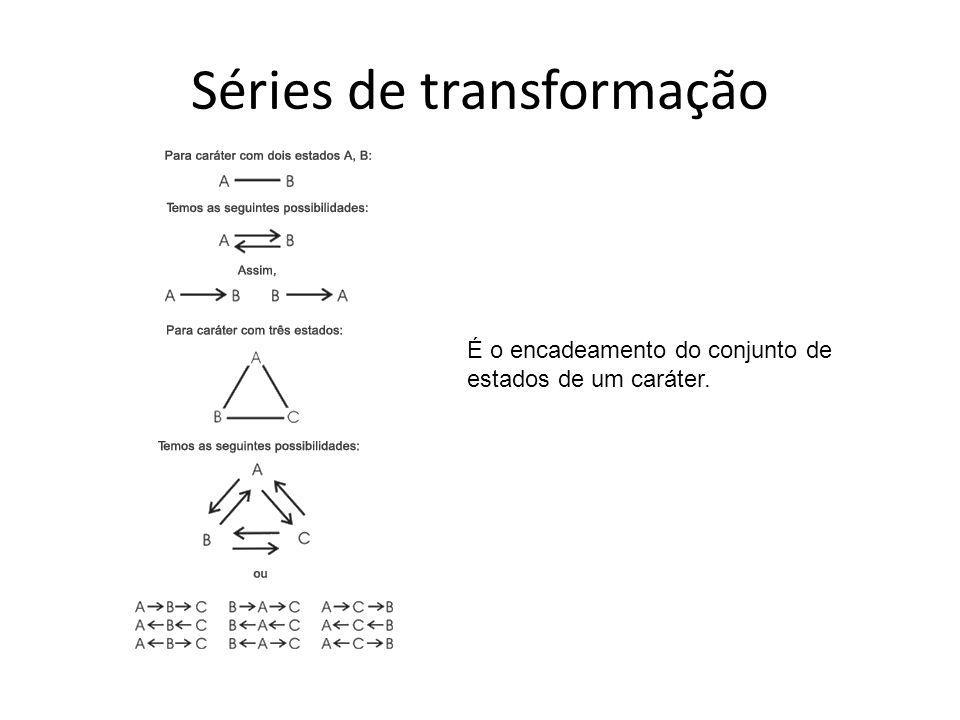 Séries de transformação