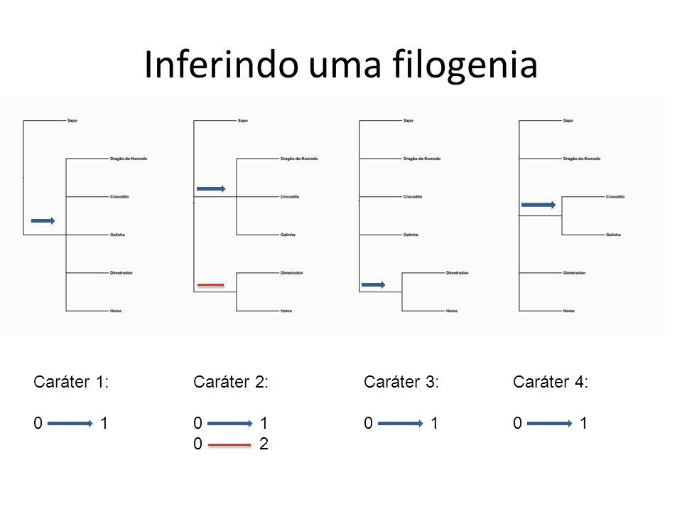 Inferindo uma filogenia