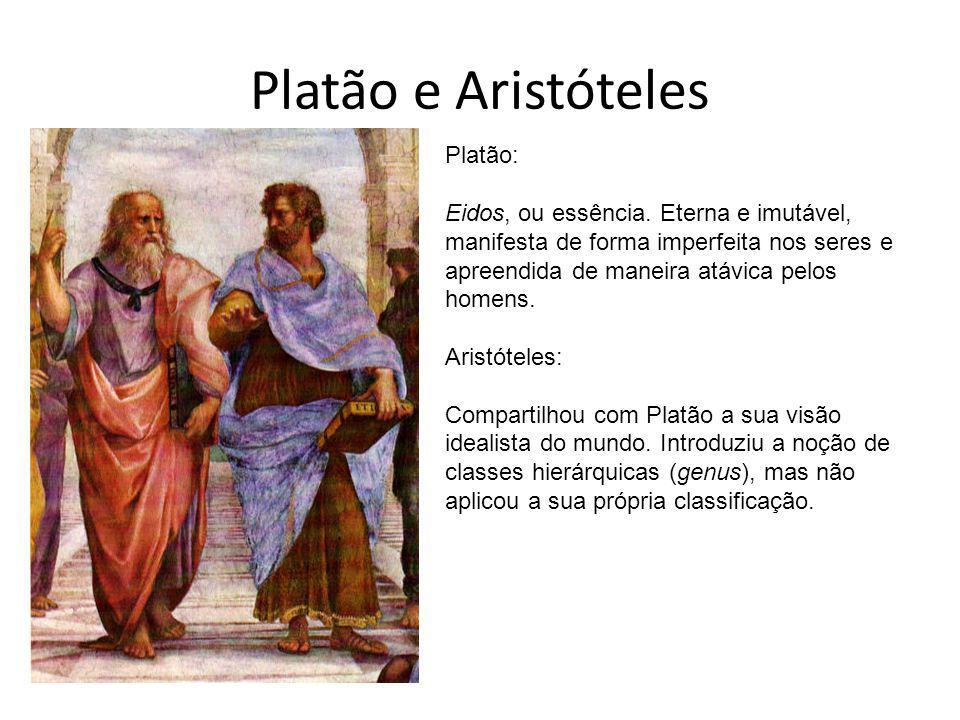 Platão e Aristóteles Platão: