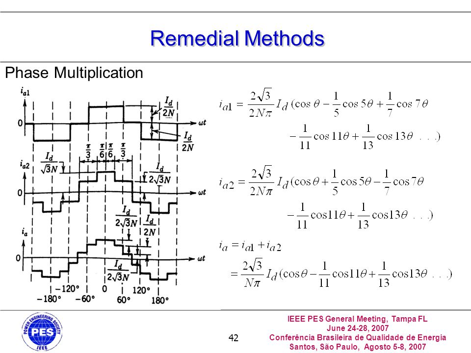 Remedial Methods Phase Multiplication 中正--電力品質實驗室