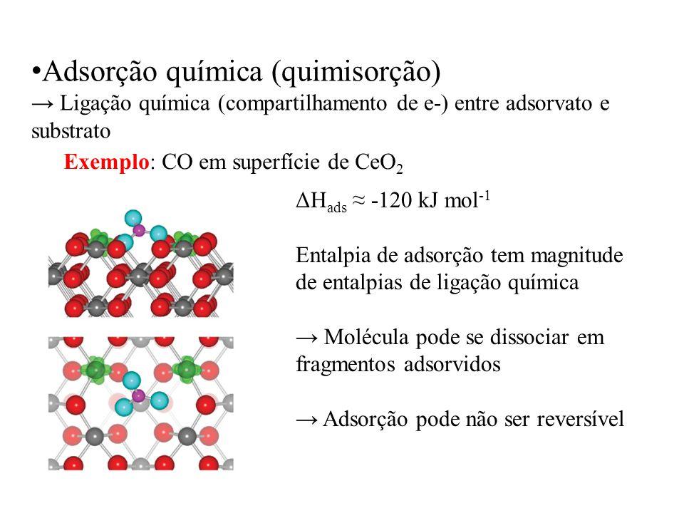 Adsorção química (quimisorção)