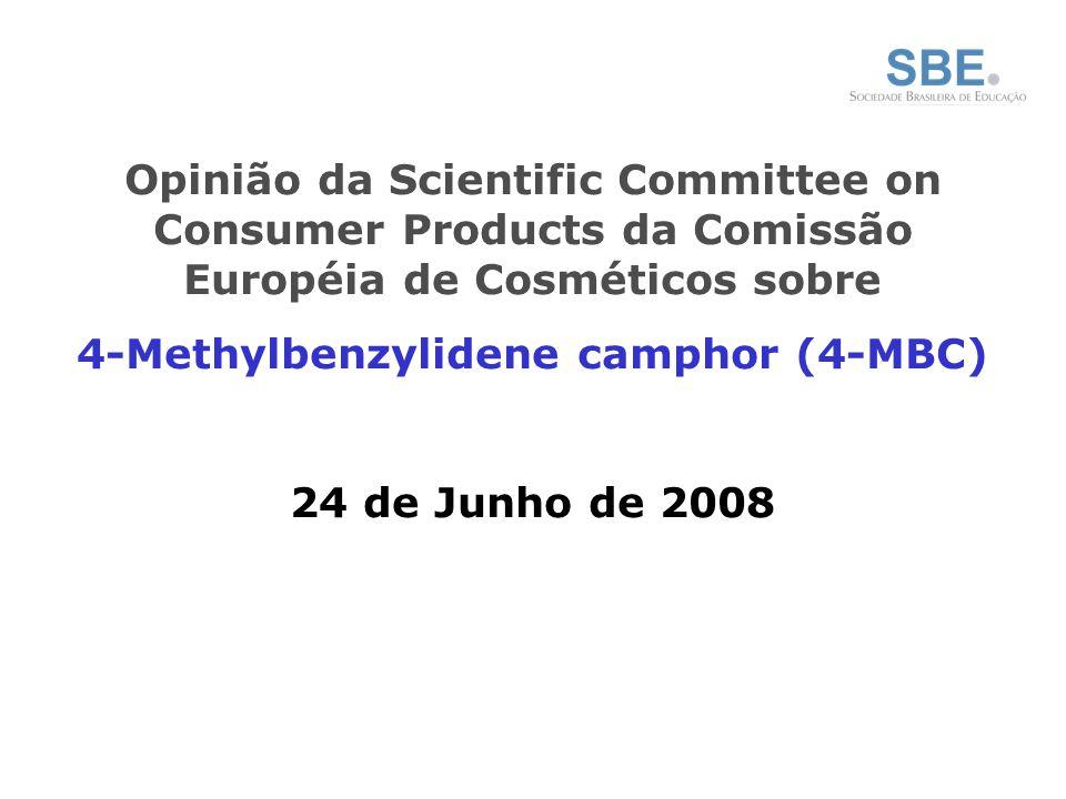 4-Methylbenzylidene camphor (4-MBC)