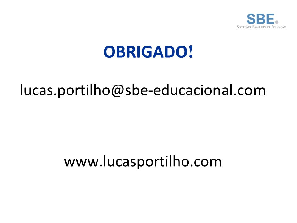 lucas.portilho@sbe-educacional.com www.lucasportilho.com