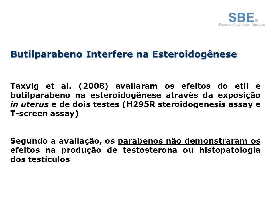 Butilparabeno Interfere na Esteroidogênese