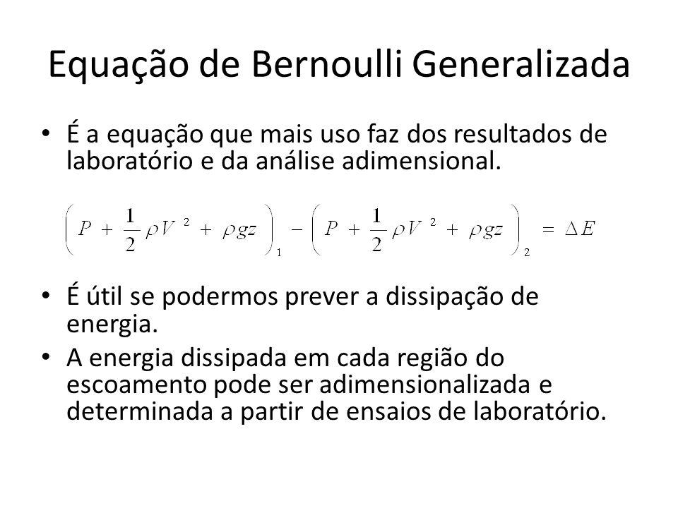 Equação de Bernoulli Generalizada
