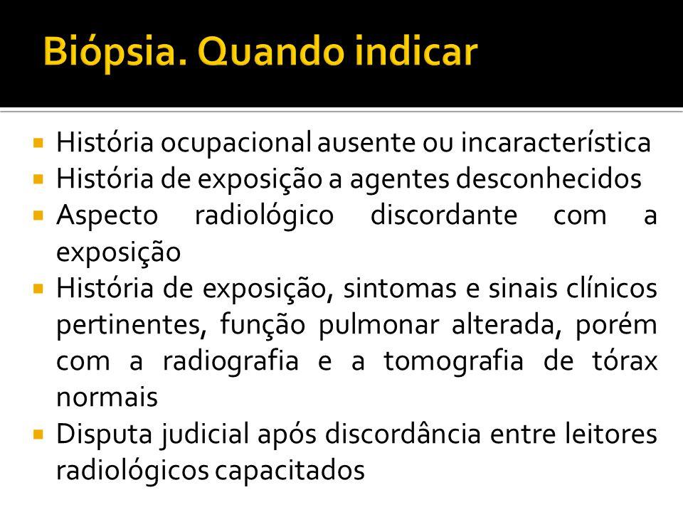 Biópsia. Quando indicar
