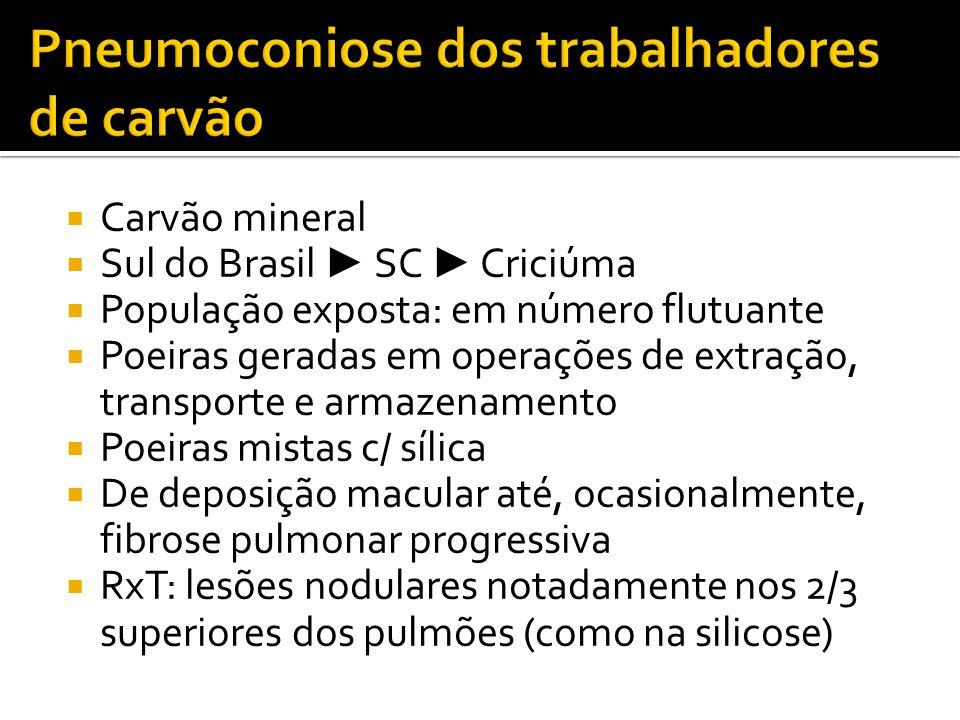 Pneumoconiose dos trabalhadores de carvão