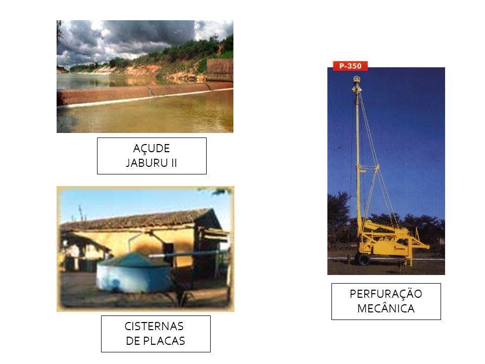 AÇUDE JABURU II PERFURAÇÃO MECÂNICA CISTERNAS DE PLACAS