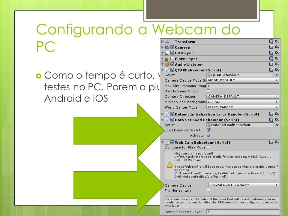 Configurando a Webcam do PC