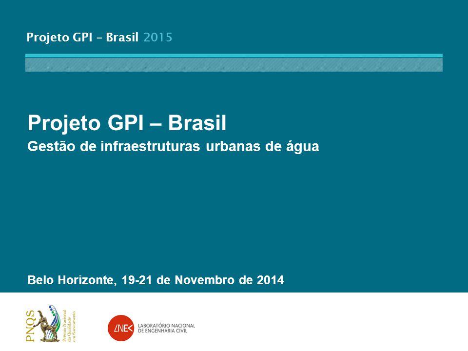 Projeto GPI – Brasil Gestão de infraestruturas urbanas de água