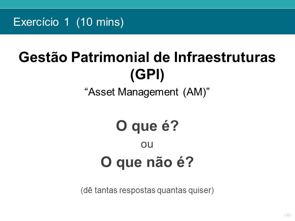 Gestão Patrimonial de Infraestruturas (GPI)