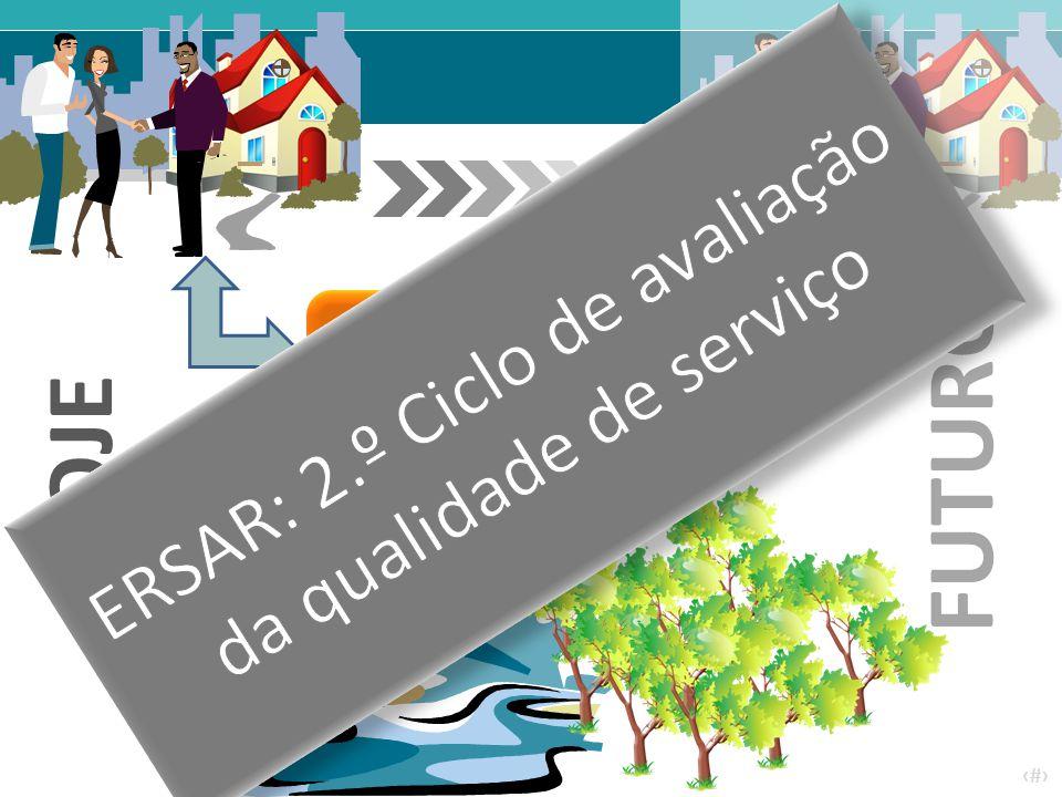 ERSAR: 2.º Ciclo de avaliação da qualidade de serviço