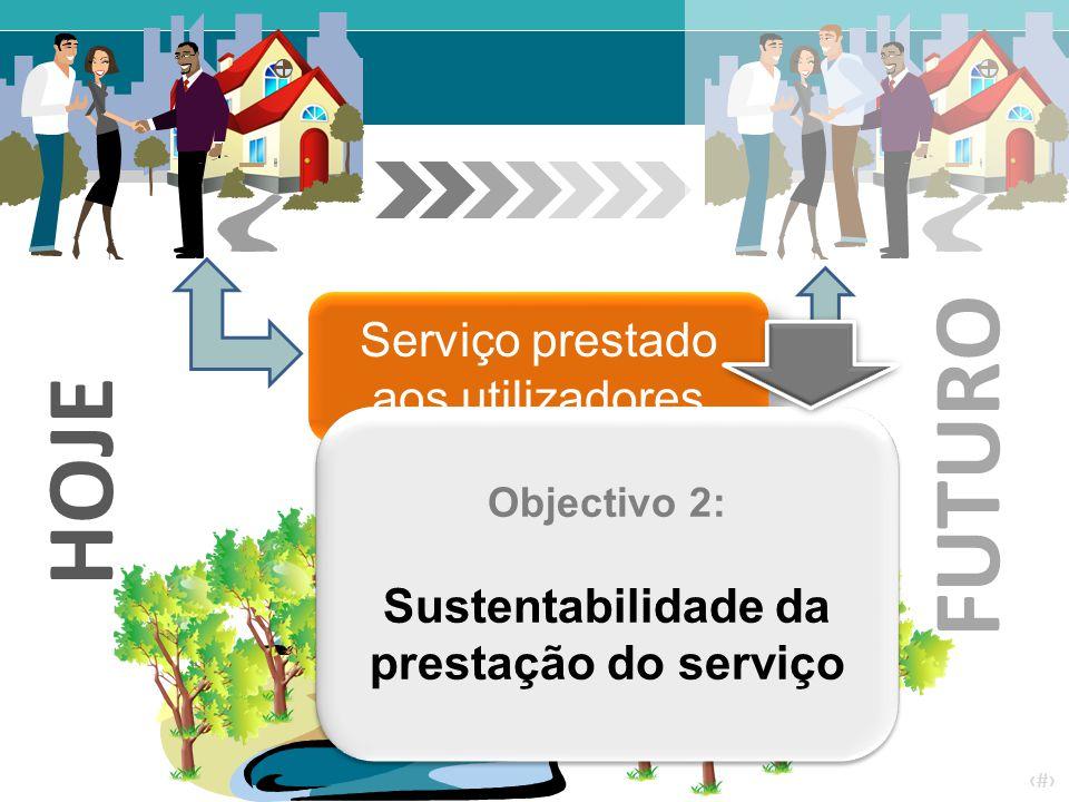 Sustentabilidade da prestação do serviço