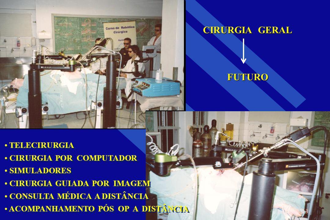 CIRURGIA GERAL FUTURO TELECIRURGIA CIRURGIA POR COMPUTADOR SIMULADORES