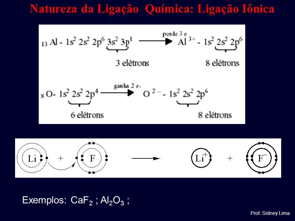 Natureza da Ligação Química: Ligação Iônica