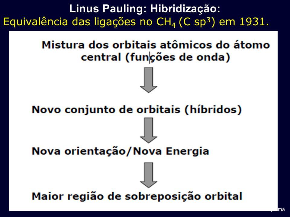 Linus Pauling: Hibridização: