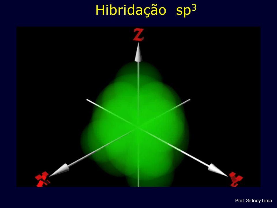 Hibridação sp3 Prof. Sidney Lima